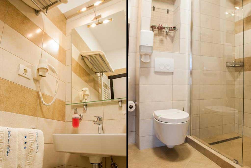 Milano Blue Hotel Bathroom
